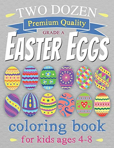 Easter Eggs Coloring Book - LOW PRICE!