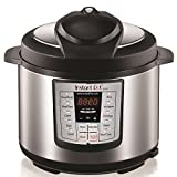 Instant Pot LUX60 V3 6 Qt 6-in-1 Muti-Use Programmable Pressure Cooker, Slow Cooker, Rice Cooker, Sauté, Steamer, and Warmer