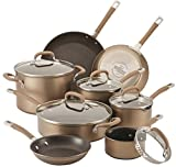 Product review for Circulon Circulon Premier Professional 13-piece Hard-anodized Cookware Set Bronze Exterior Stainless Steel Base