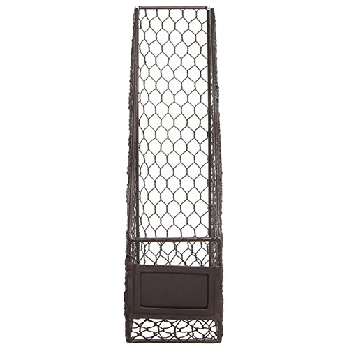 Rustic Chicken Wire Magazine, Office Document, File Holder Shelf ...