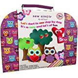 ARTIKA Sewing Kit for Kids, DIY Craft for Kids, The Most Wide-Ranging Kids Sewing Kit, Quality Kids Sewing Supplies, Includes a Booklet of Cutting Stencil Shapes for The First Step in Sewing