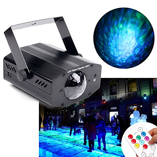 KOOT Water Ripple Light, 7 Colors Led Light Projector Halloween ...