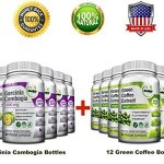 All-in-One Weight Diet Loss Pills & Appetite Suppressant Bundle w/Pure Green Coffee Bean Extract + Garcinia Cambogia Extract | Blocks Fat, Sugar, Carbs – 1440 Veggie Capsules – Gluten Free & Non GMO