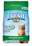Naturally Fresh Cat Litter - Walnut-Based Quick-Clumping Kitty Litter, Unscented , 26 lb