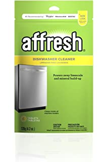 Amazon Com Affresh W10501250 Washing Machine Cleaner 6 Tablets Cleans Front Load And Top Load Washers Including He Home Improvement