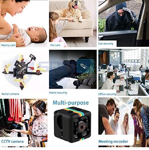 51ZSDKIWMnL Safety Net SQ11 1080P Full HD Hidden Smallest Mini Spy Camera | Night Vision Hidden Cam | 1920 x 1080p | Full HD Audio and Video Recording