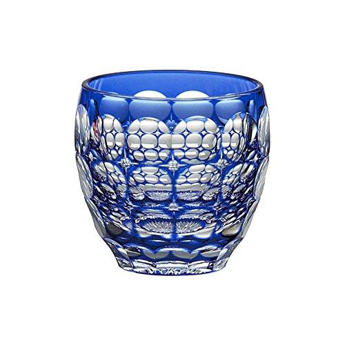 Edo Kiriko cold glass sake cups traditional craftsmen Nabeya Satoshi 80cc T535-2684CCB