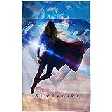"Endless Sky -- Supergirl TV Show -- Beach Towel (36"" x 58"")"