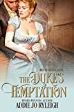 The Duke's Temptation (Men of Circumstances Book 1)