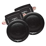 Skar Audio TX-T 240 Watt Max 1-Inch Neodymium Silk Dome Tweeters - Pair