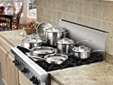 cuisinart multiclad pro OR calphalon tri-ply cookware set