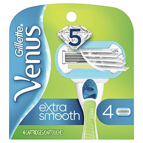 Venus Extra Smooth Women's Razor Blade – 4 Refills