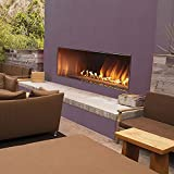 Empire Comfort Systems Outdoor 60' SS Manual Ignition Linear Fireplace - Natural Gas