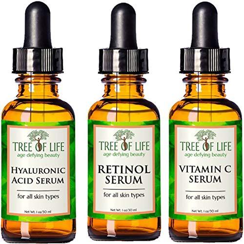 Anti Aging Serum 3-Pack – Face Serum Full Regimen