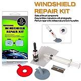 ARISD Car Windshield Repair Kit - Windshield & Glass Repair Tool Set for Half-Moon Cracks or The Combination Cracks