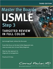 Kết quả hình ảnh cho Master the Boards USMLE Step 3 full color
