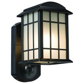 Maximus Video Security Camera & Outdoor Light - Craftsman Bronze - Compatible with Alexa