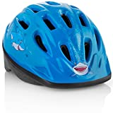TeamObsidian Kids Bike Helmet [ Blue Shark ] - Adjustable from Toddler to Youth Size, Ages 3-7 - Durable Kid Bicycle Helmets with Fun Aquatic Design Boys Will Love - CSPC Certified - FunWave