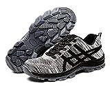 GUDUN Unisex Breathable Steel Toe Shoes for Men Steel Toe Sneakers Men Steel Toe Boots (13-18 to delivery) (US Men 9 / EU 44, GD13)