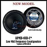 Audiopipe 6' 250W Low Mid Frequency Loud speakers APMB-6SB-B FULL RANGE