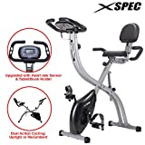 Xspec Upgraded Dual Recumbent Upright Indoor Cycling Foldable Exercise Bike