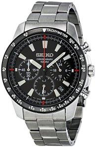 Seiko SSB031 Men's Chronograph Stainless Steel Case Watch