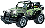 Think N Thrill Off-Road Military Fighter Jeep for Kids - Friction Powered Toy Car with Cool Fun Lights and Sounds - Great Holiday Gift Idea for Boys & Girls Ages 3 + Years Old