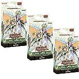 Konami Yu-Gi-Oh! TCG: Rokket Revolt Structure Decks (Set of 3 Decks)