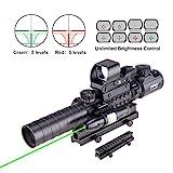 Pinty Rifle Scope 3-9x32 Rangefinder Illuminated...