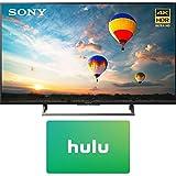 Sony XBR-43X800E 43-inch 4K HDR Ultra HD Smart LED TV (2017 Model) w/1 Month Netflix Subscription
