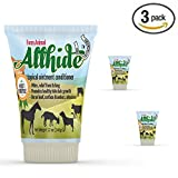 Product review for 3 Pack Tubes - AllHide Live Stock Ointment - Horse, Goat, Cow, Dog, Farm Animal