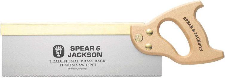 Spear & Jackson 9550B Traditional Brass Back Tenon Saw