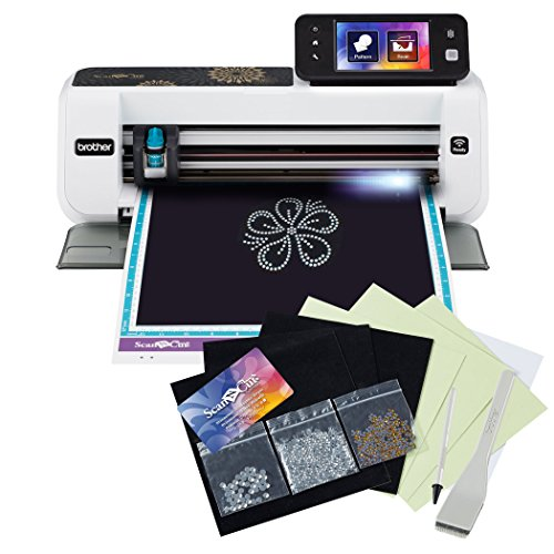 Brother ScanNCut2 Home and Hobby Cutting Machine with Rhinestone Trial...
