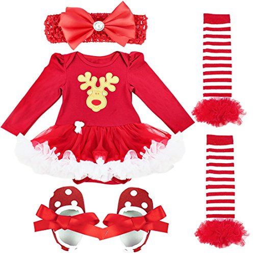 f952fe9ea ... Girls Outfits Newborn Infant My First Christmas Tutu Dress Up. Sale!  🔍. On Sale