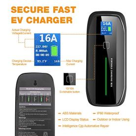 BESENERGY-EV-Charger-Level-2-J1772-EVSE-27ft-Home-Current-Switchable-220V-240V-IP66-10A16A-Portable-Charge-Station-Compatible-with-All-J1772-Electric-Car