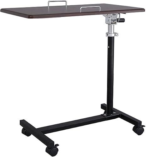 角度調整機能付きマルチテーブル ダークブラウン SCY-2168M4C(DB)
