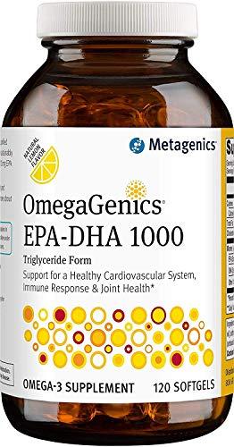 Metagenics OmegaGenics EPA-DHA 1000 Dietary Supplement, 120 Count