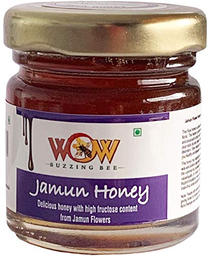 51aKhkmOfEL - WOW Cooking Oils Certified Organic Cold Pressed Black Mustard Seed & Sunflower Cooking Oil - 425 ml x 2 Combo with Free 55 GMS Raw Jamun Forest Honey