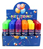 24 Pack of Party Streamer Spray String in a Can Children's Kid's Party Supplies, Perfect for Parties/Events