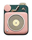 Muzen Audio Cotton Candy Button Portable Wireless High Definition Audio Bluetooth Speaker - Classic Vintage Retro Design