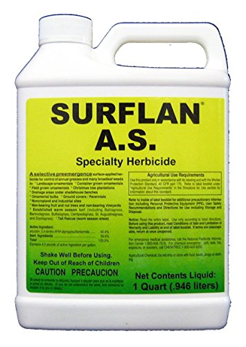 Southern Ag - 12401 - Surflan A.S. - Pre-Emergent Herbicide, 32oz
