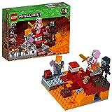 LEGO Juego de Construcción Minecraft el Combate en el Infierno (21139)