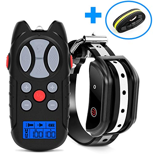 Shock Collar for Dogs, 2019 Newest Flittor Dog training Collar, Rechargeable Dog...