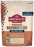 Arrowhead Mills Organic Gluten Free Buckwheat Flour, 22 oz. Bag (Pack of 6)