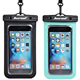 Hiearcool Universal Waterproof Case,Waterproof Phone Pouch for XS/XS MAX/XR/8/8plus Samsung Galaxy s10/s9 Google Pixel 2 HTC LG Sony Moto,IPX8 Cellphone Dry Bag up to 7.0' - 2 Pack