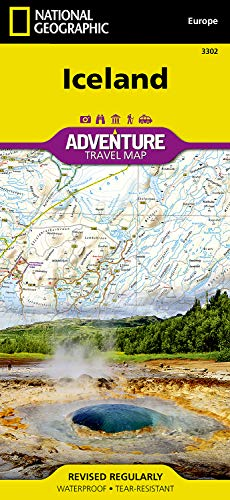 Iceland (National Geographic Adventure Map)