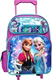 Disney Frozen Elsa Anna Oalf 16 inches Large Rolling Backpack