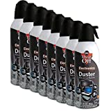 Brand New Air Computer TV Gas Compressed Cans Duster 10 oz - 8 PACK