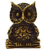 Mini Amulet Statue Wealth Owl Mythical creatures help creative ideas successfull pendants