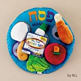 My Plush Seder Set in Reusable Pouch